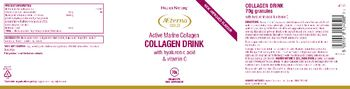 Higher Nature Collagen Drink with Hyaluronic Acid & Vitamin C - food supplement
