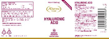 Higher Nature Hyaluronic Acid - food supplement
