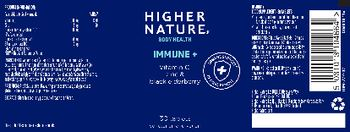 Higher Nature Immune + - food supplement