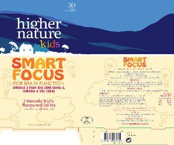 Higher Nature Kids Smart Focus - food supplement