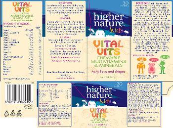 Higher Nature Kids Vital Vits - food supplement