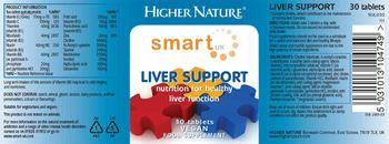 Higher Nature Liver Support - food supplement