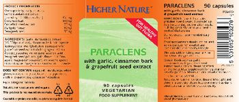 Higher Nature Paraclens - food supplement