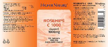 Higher Nature Rosehips C 1000 - food supplement