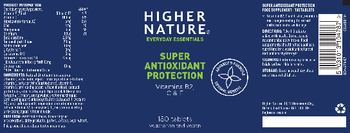 Higher Nature Super Antioxidant Protection - food supplement