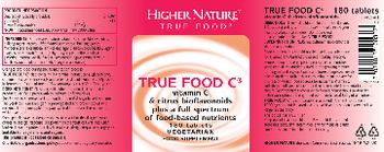 Higher Nature True Food C - food supplement