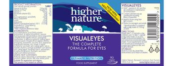 Higher Nature Visualeyes - food supplement