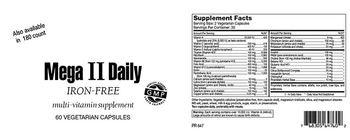 Highland Laboratories Mega II Daily Iron-Free - multivitamin supplement