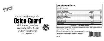 Highland Laboratories Osteo-Guard - supplement