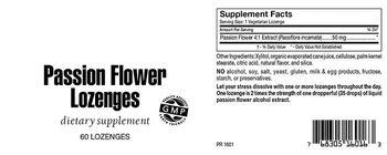 Highland Laboratories Passion Flower Lozenges - supplement