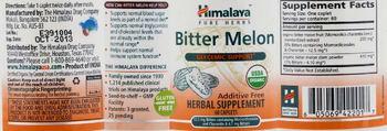 Himalaya Bitter Melon - herbal supplement