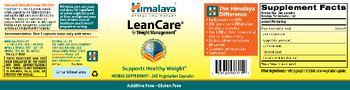 Himalaya LeanCare - herbal supplement