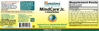 Himalaya MindCare Jr. - herbal supplement