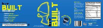 HIT Supplements Built Blue Raspberry - supplement