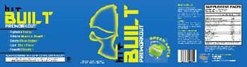 HIT Supplements Built Preworkout Green Apple - supplement