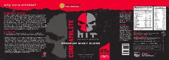 HIT Supplements Core Athlete Premium Whey Blend Pound Cake - supplement