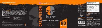 HIT Supplements Creafusion Creatine Blend Strawberry Lemonade - supplement