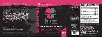 HIT Supplements Igniter Extreme Women Only Tangerine - supplement