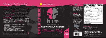 HIT Supplements Igniter Extreme Women Only Tropical Punch - supplement