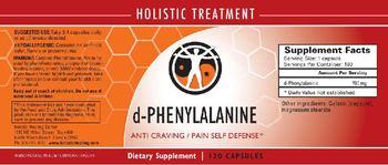Holistic Healing Center D-Phenylalanine - supplement