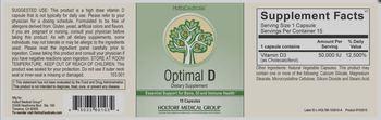 HoltraCeuticals Optimal D - supplement