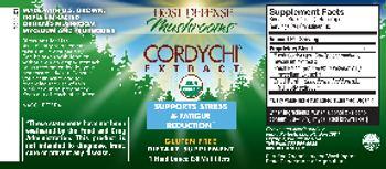 Host Defense Mushrooms Cordychi Extract - supplement