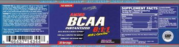 Human Evolution Supplements BCAA 6:1:1 With L-Carnitine Grape - supplement