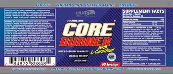 Human Evolution Supplements Core Burner - supplement with dandelion root