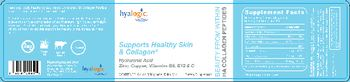 Hyalogic Beauty From Within HA Collagen Peptides - supplement