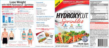 Hydroxycut Hydroxycut Sprinkles - supplement