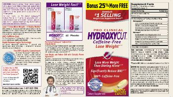 Hydroxycut Pro Clinical Hydroxycut Caffeine-Free - supplement