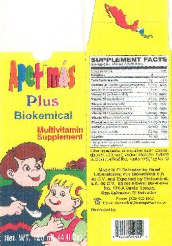 Razel Laboratories Apetima's Plus Biokemical - multivitamin supplement