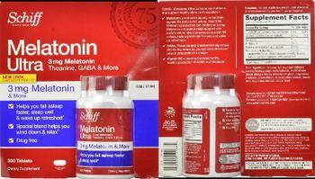 Shiff Melatonin Ultra 3 mg - supplement