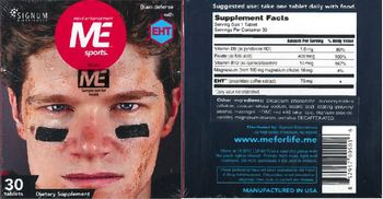 Signum Biosciences Me Sports - supplement