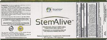 Stemvida 1-001-0538-00 StemAlive - supplement