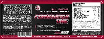 Superior Labs Formulation One - supplement