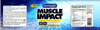 Symbiotics Sport Muscle Impact - supplement