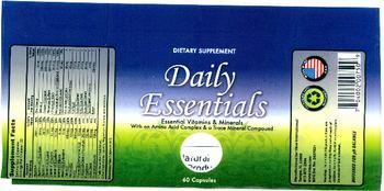 Vaxa International Daily Essentials - supplement